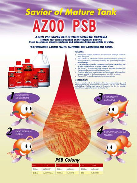 AZOO PSB SUPER RED PHOTOSYNTHETIC BACTERIA