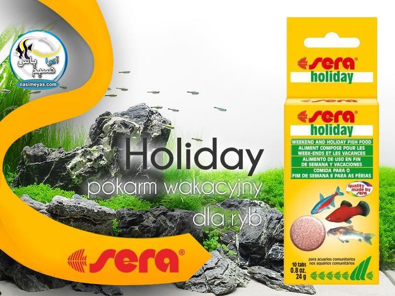 Sera Holiday Food 10 Tablets