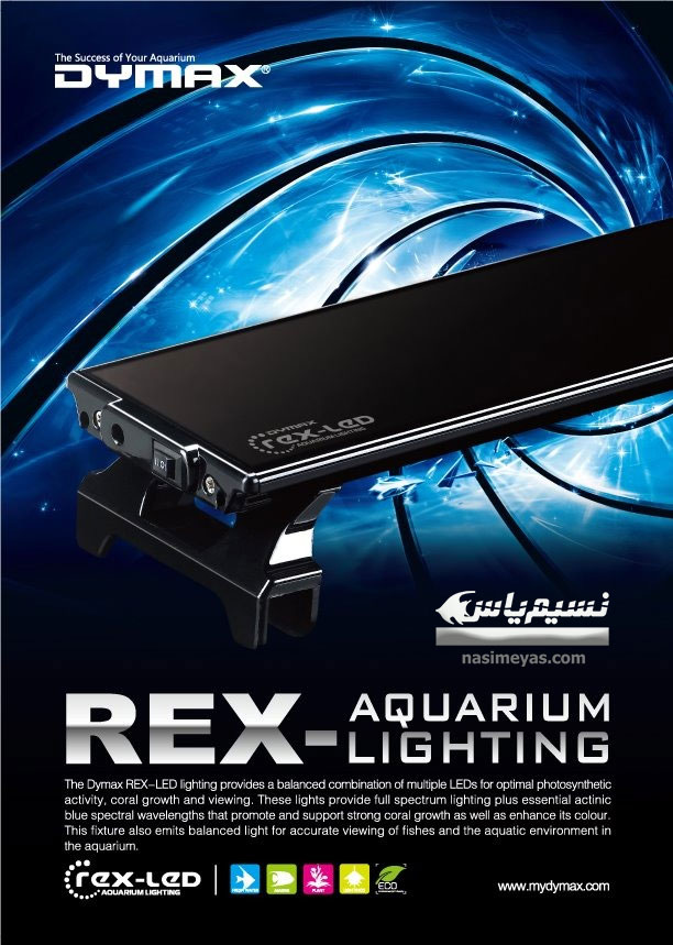 DYMAX Rex-LED Lighting 150cm