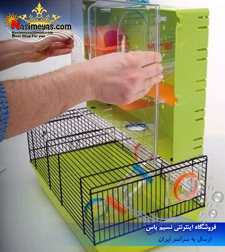 ferplast Hamster cage, with tubes and playing area