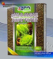 متریال ثابت کننده  pH 6.8 و حذف سموم آزو