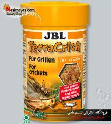 غذای جیرجیرک و حشرات طعمه تراریوم ۱۰۰ میل جی بی ال