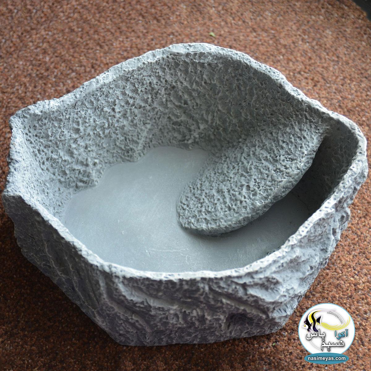 ظرف غذا و آب خوری خزندگان مدل لارج جی بی ال