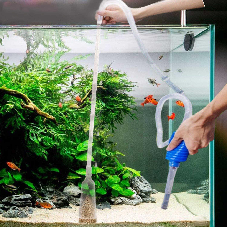 سیفون و تعویض به موقع آب کلیدی ترین روش شفاف نگه داشتن آب