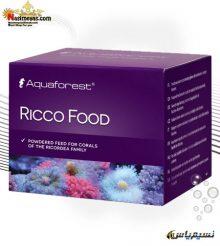غذای انواع قارچ ریکو فود آکوا فارست