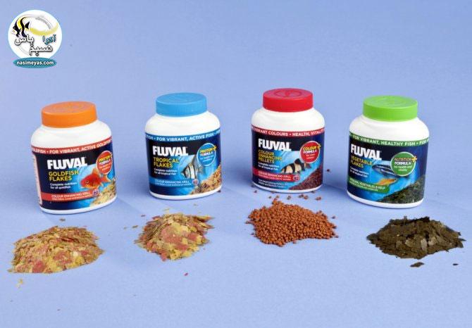 غذای آبزیان از شرکت فلووال