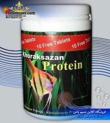 غذای ریز پروتئینی ماهیان آب شیرین ۱۰۰ گرم خوراک سازان