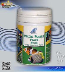 غذای پولکی جلبکی و سبزیجات آب شور خوراک سازان