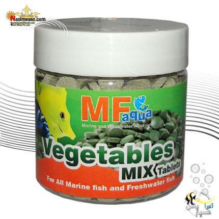 قرص میکس سبزیجات ویجی تیبل 250 میل ام اف آکوا