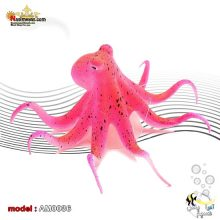 دکور اختاپوس پلاستیکی AM0036 قرمز رنگ