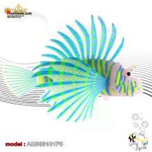 دکوری خروس یا شیر ماهی AM003101 لاجوردی
