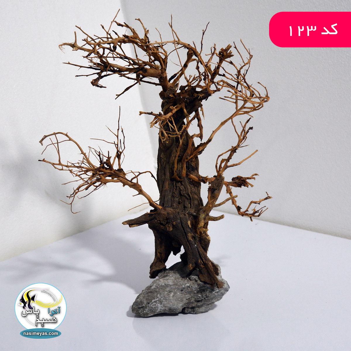 درختچه بن سای دست ساز دیزاین آکواریوم