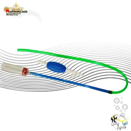 سیفون معمولی آکواریوم دسته بلند شیردار 002