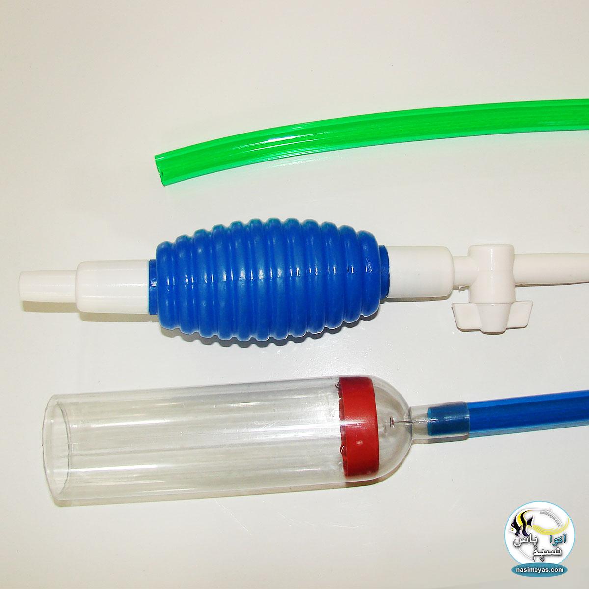 Ordinary siphon manually