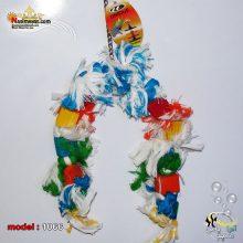 اسباب بازی پرنده طناب و چوب آویز کد ۱۰۶۶