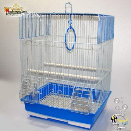 قفس پرنده سفید آبی کد A405 دایانگ