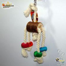 اسباب بازی پرنده چوب و طناب کد ۱۱۱۶