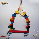 اسباب بازی پرنده تاب چوبی آویز کد ۱۱۱۴