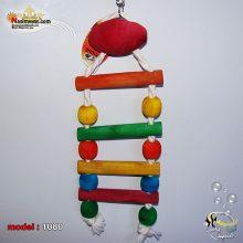 اسباب بازی پرنده نربان و طناب آویز کد 1080