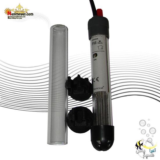 بخاری شیشه یدک دار 50 وات RS-668 الکتریکال