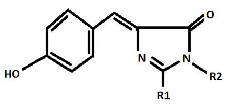 کروموفور پروتئین فلورسنت سبز ( GFP )