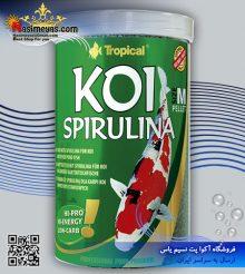 غذای گرانول اسپیرولینا ماهی کوی اسمال ۱۰۰۰ میل تروپیکال