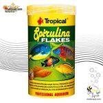 غذای پولکی اسپیرولینا تمام ماهیان تروپیکال