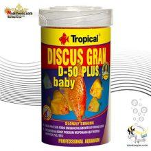 غذای ریز بچه ماهی دیسکس D-50 بیبی تروپیکال