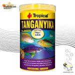 غذای پولکی سیچلایدهای تانگانیکا تروپیکال