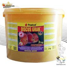 غذای گرانول دیسکس گران ۳ کیلوگرم تروپیکال
