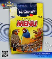 غذای پریمیوم انواع فنچ مینو ۵۰۰ گرم ویتاکرافت