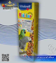 تشویقی کراکر ویتامینه طوطی ۱۸۰ گرم ویتاکرافت