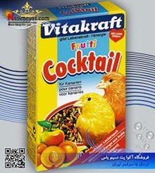غذای کوکتل میوه قناری ۲۰۰ گرم ویتاکرافت